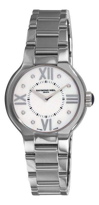 "Image of ""Raymond Weil 5932-St-00995 Noemia Diamond Stainless Steel Watch"""