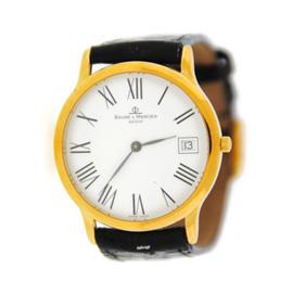 Baume & Mercier MV045077 18K Yellow Gold Watch