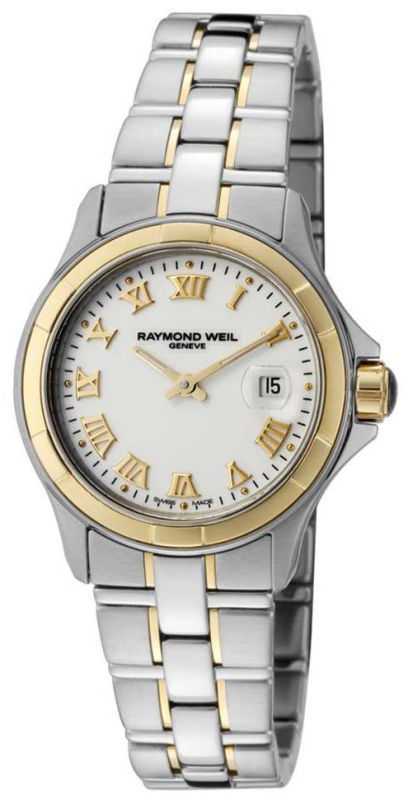 """Image of """"Raymond Weil Parsifal Two Tone Stainless Steel Womens Watch"""""""