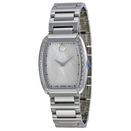 Movado 0606548 Concerto Diamond Stainless Steel Womens Watch