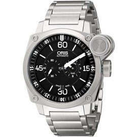 Oris BC4 Flight Timer 749-7632-4194-MB Chronograph Stainless Steel Mens Watch