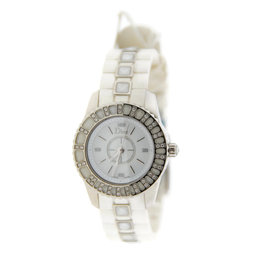 Christian Dior Christal Diamond Stainless Steel Womens Watch