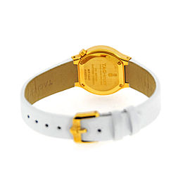 Tag Heuer Alter Ego WP1440 18K Yellow Gold and White Leather 25mm Watch