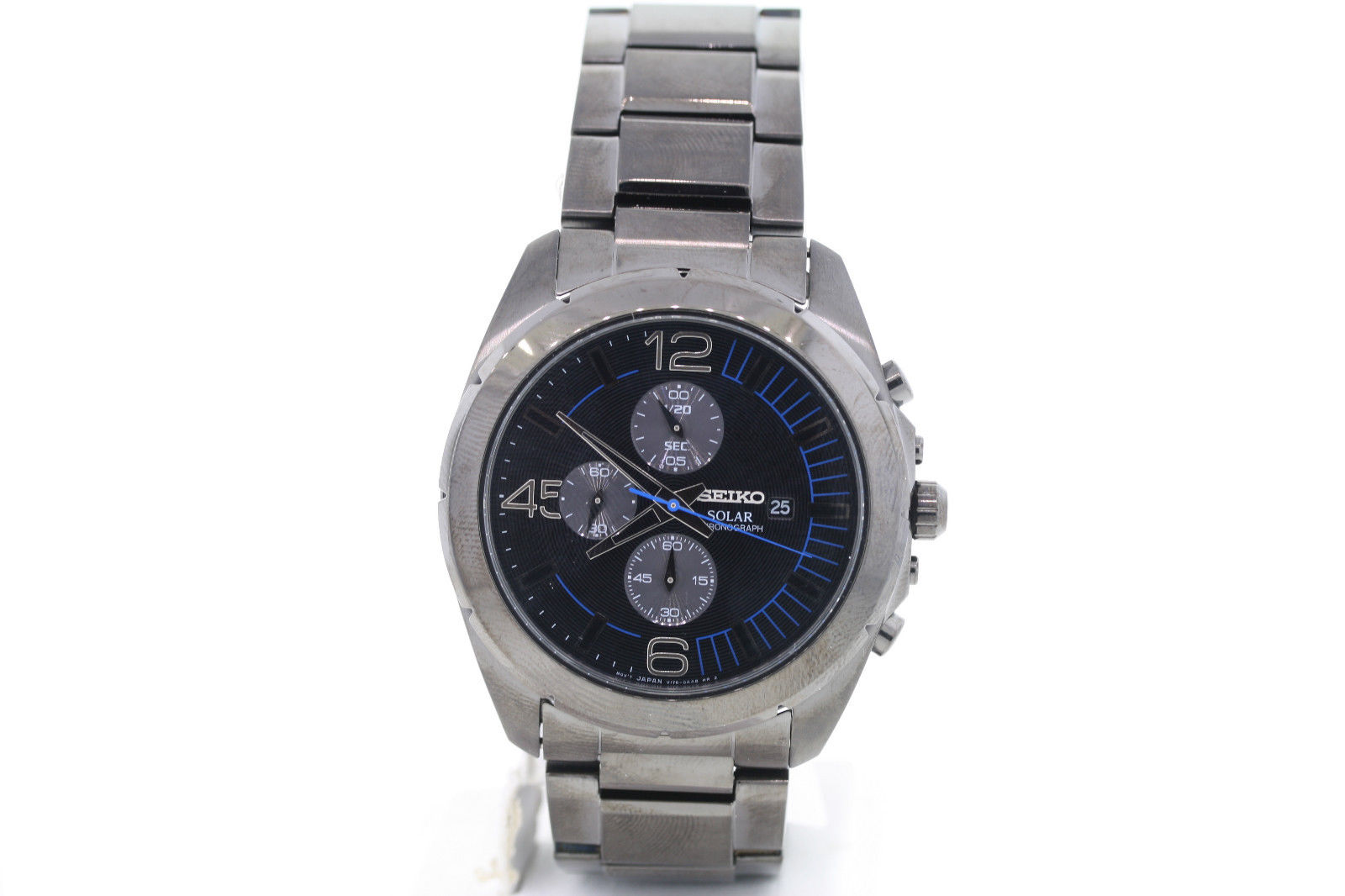 """Image of """"Seiko Ssc203 Stainless Steel Quartz 45mm Mens Watch"""""""