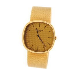 Patek Philippe Ellipse 18K Yellow Gold Watch