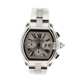 Cartier Roadster W62010X6 Chronograph Stainless Steel Watch