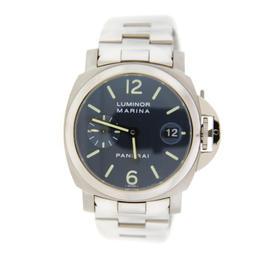 Panerai PAM120 Luminor Marina Blue Dial Automatic Stainless Steel Watch
