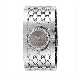 Gucci The Twirl YA112416 Diamond Stainless Steel Watch