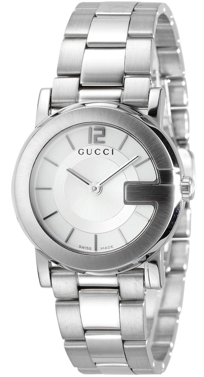 "Image of ""Gucci G-Round Ya101506 Stainless Steel Watch"""
