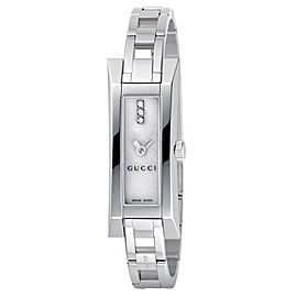 Gucci YA110516 Mother Of Pearl Dial Diamond Stainless Steel Watch