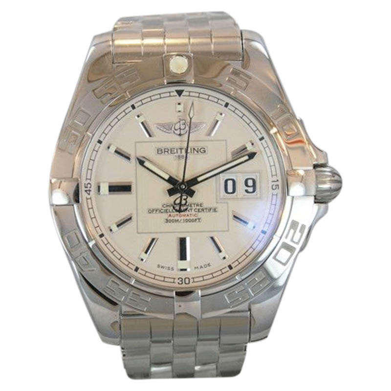 """Image of """"Breitling Galactic A49350L2/g699 with Date Stainless Steel Automatic"""""""