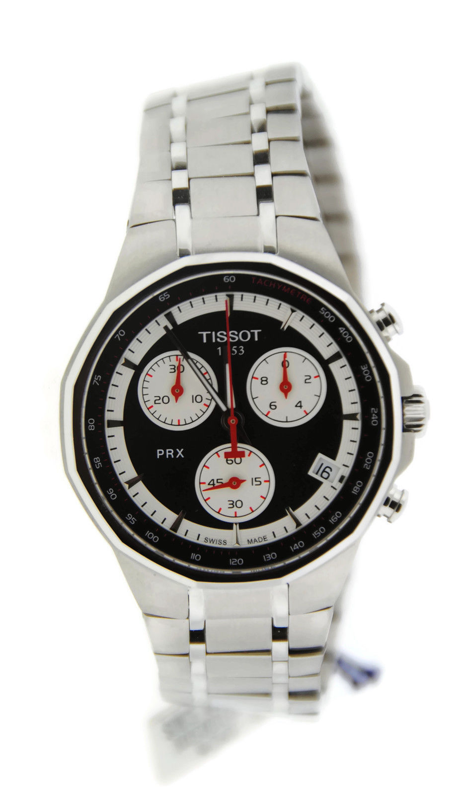 "Image of ""Tissot T0774171105101 PRX Chronograph Stainless Steel Watch"""