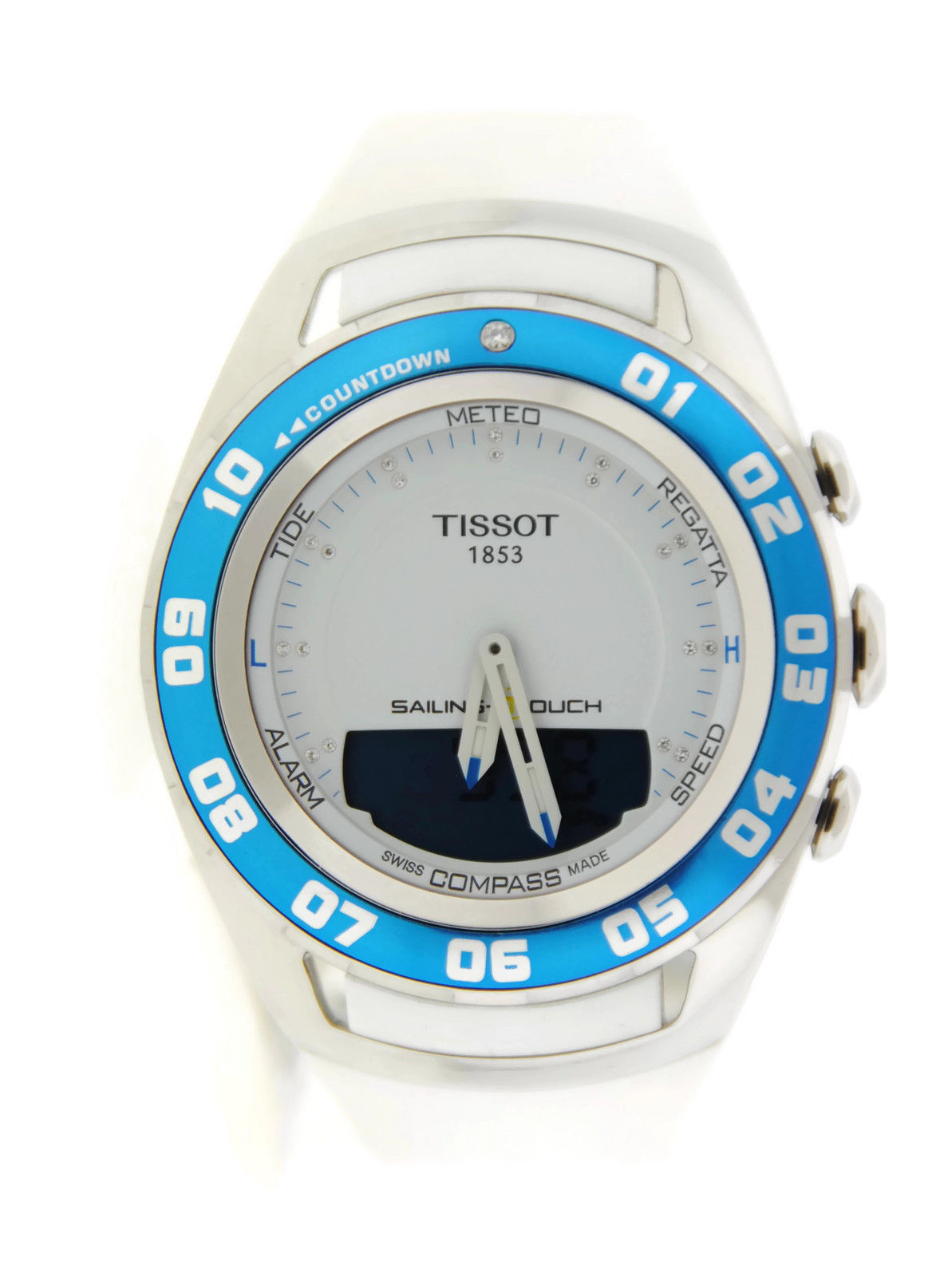 """Image of """"Tissot T056.420.17.016.00 T-Touch Sailing Stainless Steel Watch"""""""