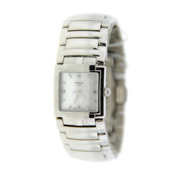 Tissot T051.310.11.116.00 T-Evocation Diamond Stainless Steel Watch