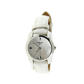 Tissot T0232101611100 T-Wave Mother Of Pearl Dial Stainless Steel Watch