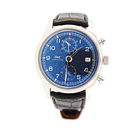 IWC Portuguese IW390406 Chronograph Laureus Stainless Steel Watch