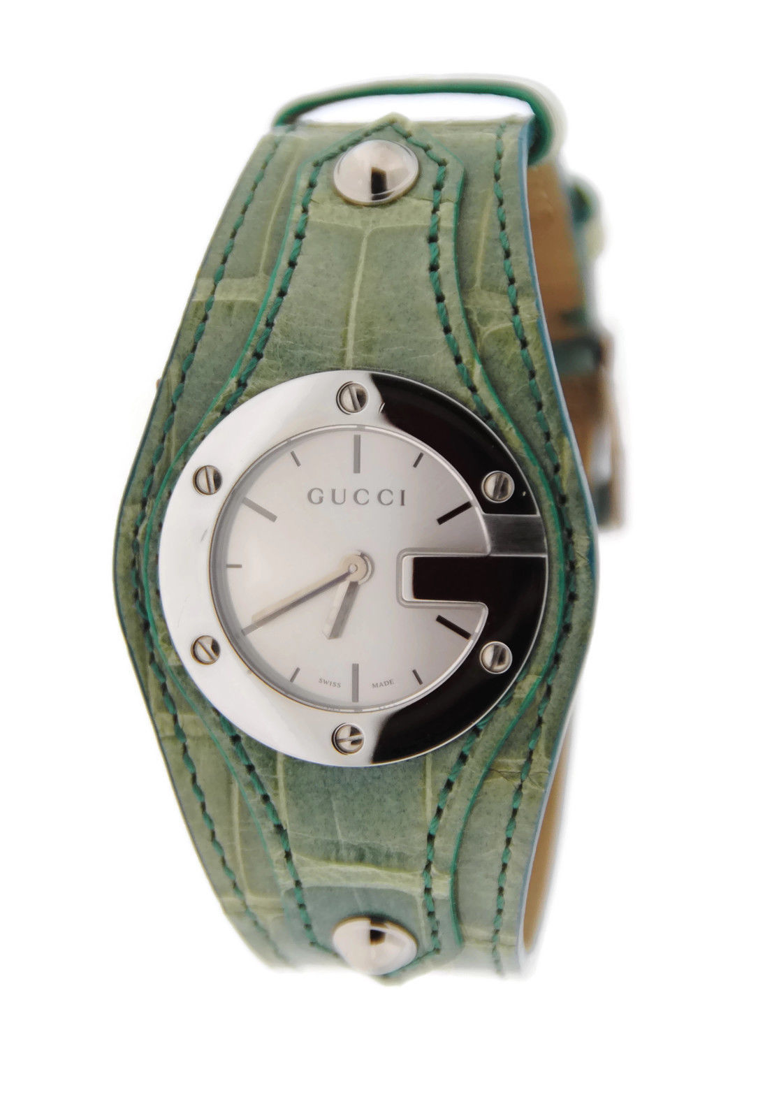 "Image of ""Gucci Ya104505 G Bandeau 104 Stainless Steel Watch"""