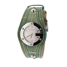 Gucci YA104505 G Bandeau 104 Stainless Steel Watch