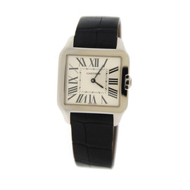Cartier Santos Demont W2009451 18K White Gold Watch