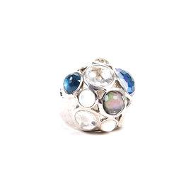 Ippolita 925 Sterling Silver with Blue Quartz
