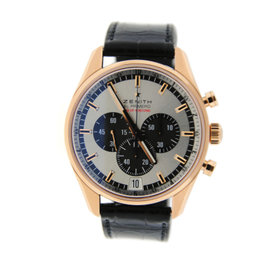 Zenith El Primero Striking 10th 18.2040.4052 Chronograph 18K Rose Gold Watch