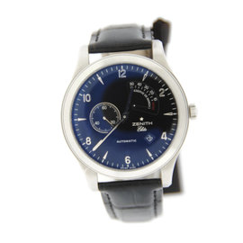 Zenith 03.0520.685 Grande Class Reserve De Marche Stainless Steel Watch