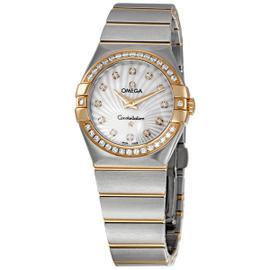 Omega 123.25.27.60.55.002 Constellation Diamond 18K Rose Gold/Steel Watch