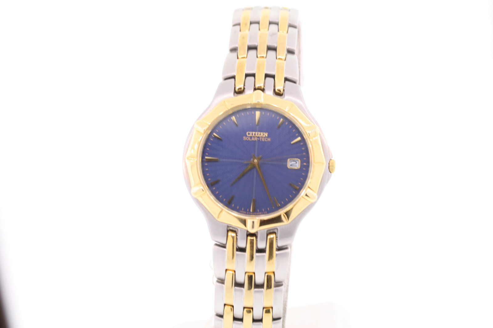 "Image of ""Citizen Ap8084-56L Two-Tone Stainless Steel Blue Dial 36mm Mens Watch"""