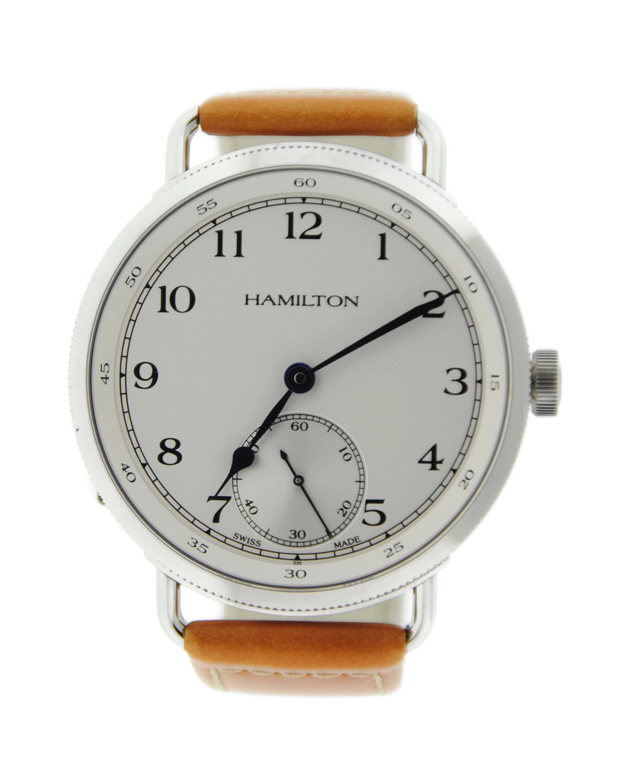 "Image of ""Hamilton H787190 Navy Pioneer Stainless Steel Mens Watch"""