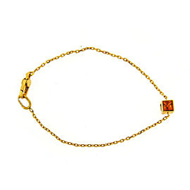 Gucci 18K Yellow Gold & Citrine Bracelet