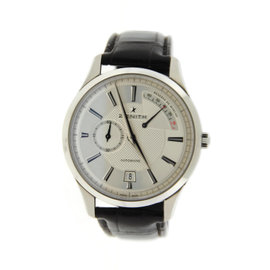 Zenith Elite Captain 03.2120.685 Stainless Steel Watch