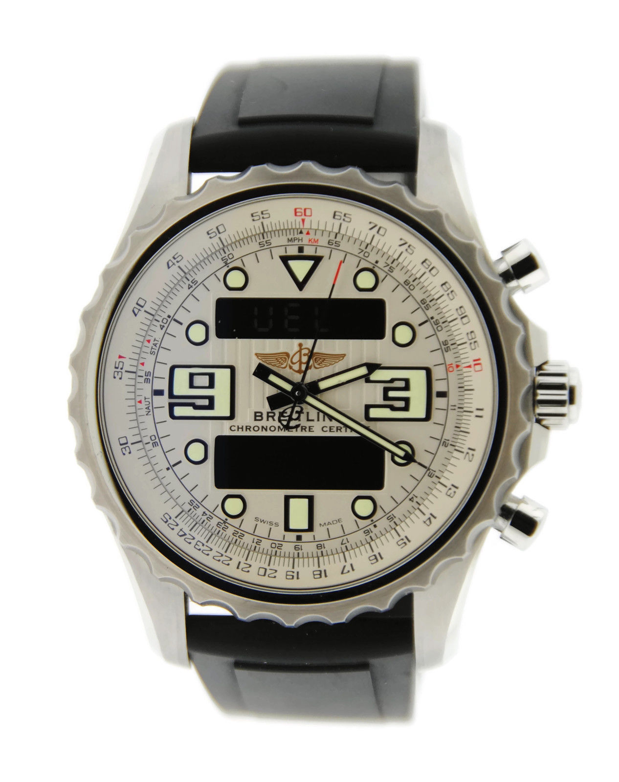 """Image of """"Breitling Chronospace A7836534 Stainless Steel Mens Watch"""""""