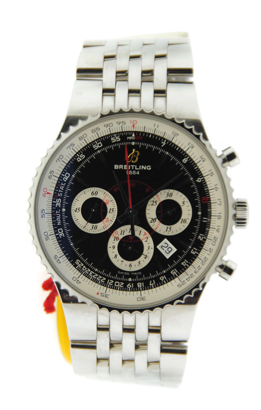 """Image of """"Breitling Navitimer 47 A2335121/ba93 Chronograph Stainless Steel Mens"""""""