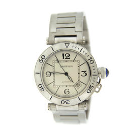 Cartier Pasha Seatimer 2790 Automatic Stainless Steel Watch