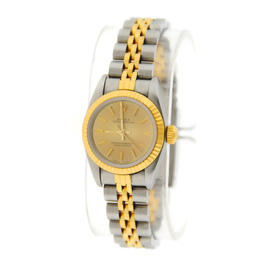 Rolex Oyster Perpetual 67193 18K/Stainless Steel Watch