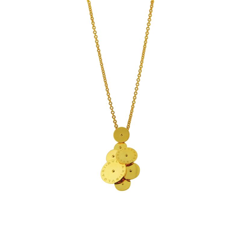 "Image of ""Bulgari 18K Yellow Gold Cicladi Large Necklace"""