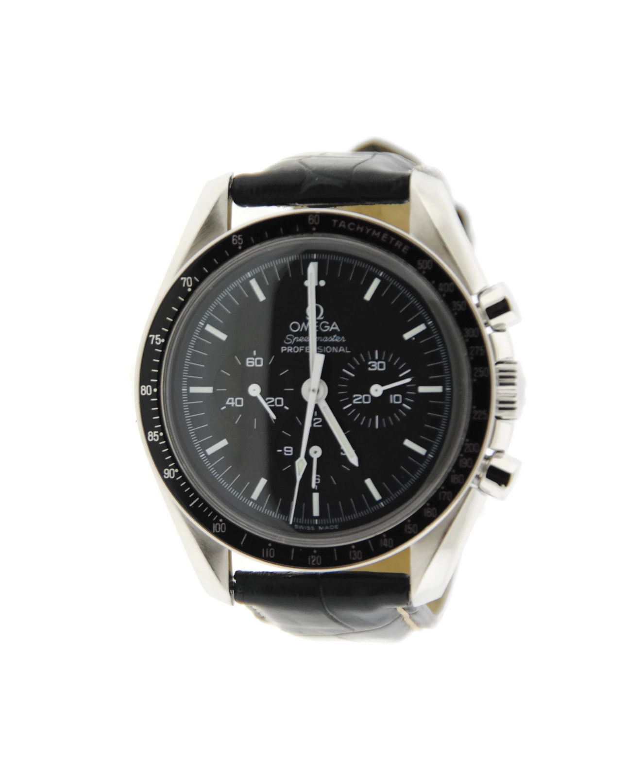 "Image of ""Omega Speedmaster Professional 1450022 Stainless Steel Mens 41mm Watch"""