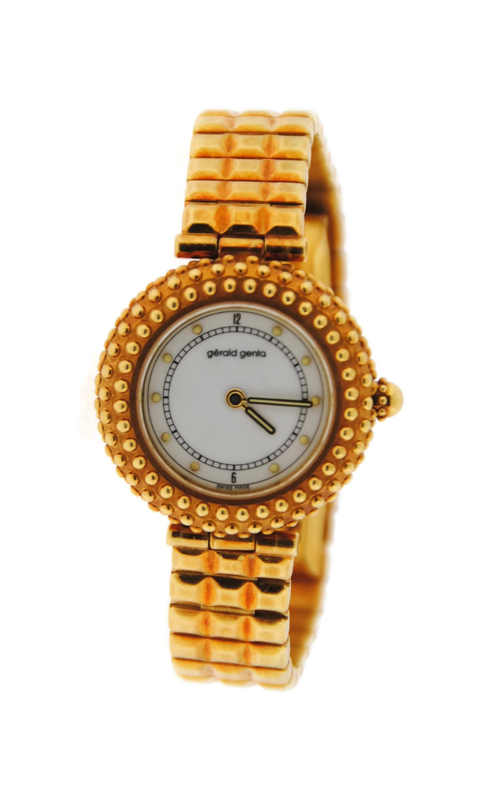 "Image of ""Gerald Genta G.3492.7 18K Yellow Gold Quartz 29mm Womens Watch"""