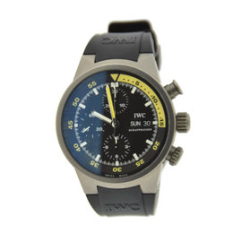 IWC Aquatimer IW371918 Chronograph Titanium & Silicone/Rubber Automatic 42mm Mens Watch