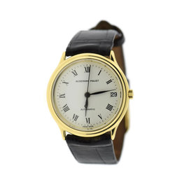 Audemars Piguet 18K Yellow Gold Automatic Vintage 32.5mm Womens Watch