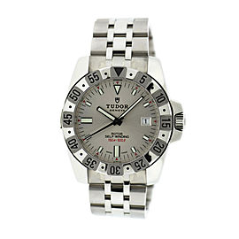 Tudor Rotor 20020 Stainless Steel Silver Dial Automatic 40mm Mens Watch