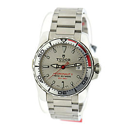 Tudor Hydronaut II 20060 Stainless Steel Automatic Silver Dial 40mm Mens Watch