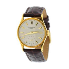 Patek Phlippe Calatrava 18K Yellow Gold 31mm Unisex Watch