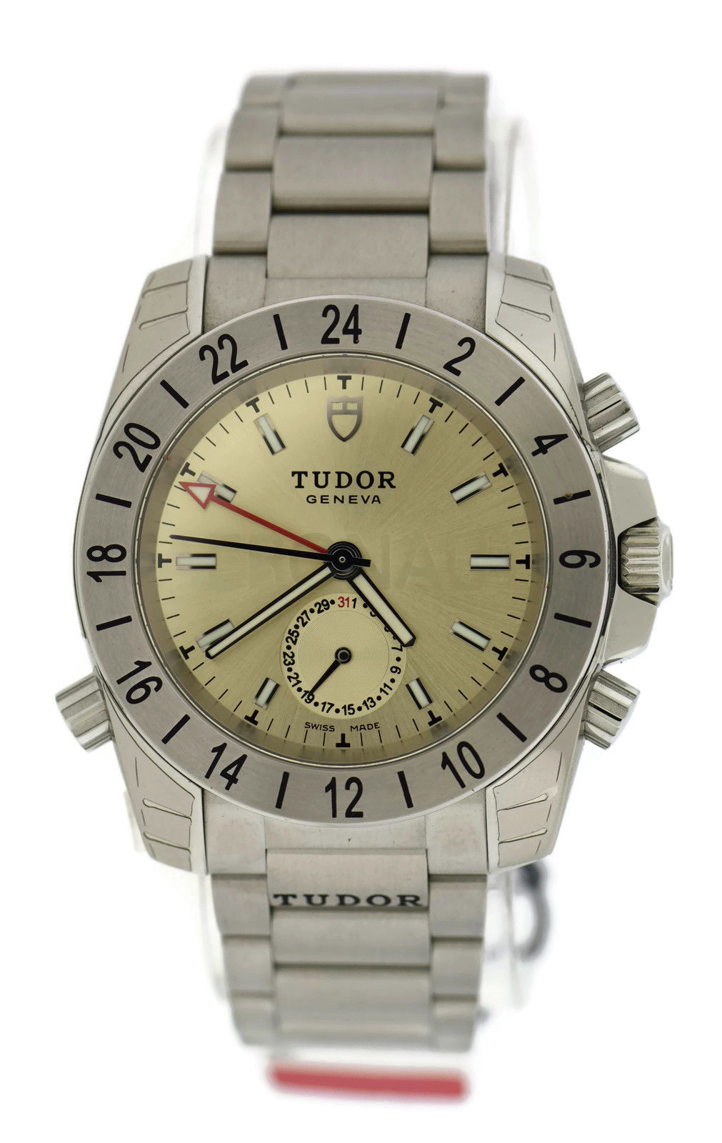 "Image of ""Tudor Aeronaut 20200 Champagne Dial Stainless Steel 41mm Mens Watch"""
