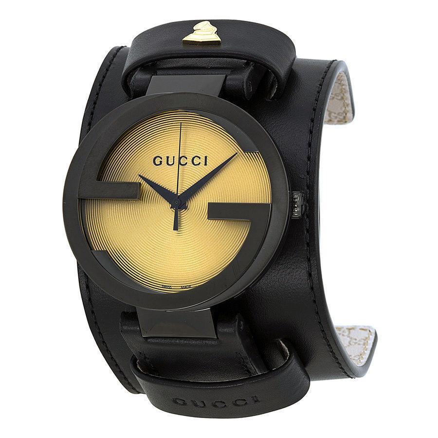 "Image of ""Gucci Interlocking Grammy Edition Ya133202 Stainless Steel 42mm Unisex"""