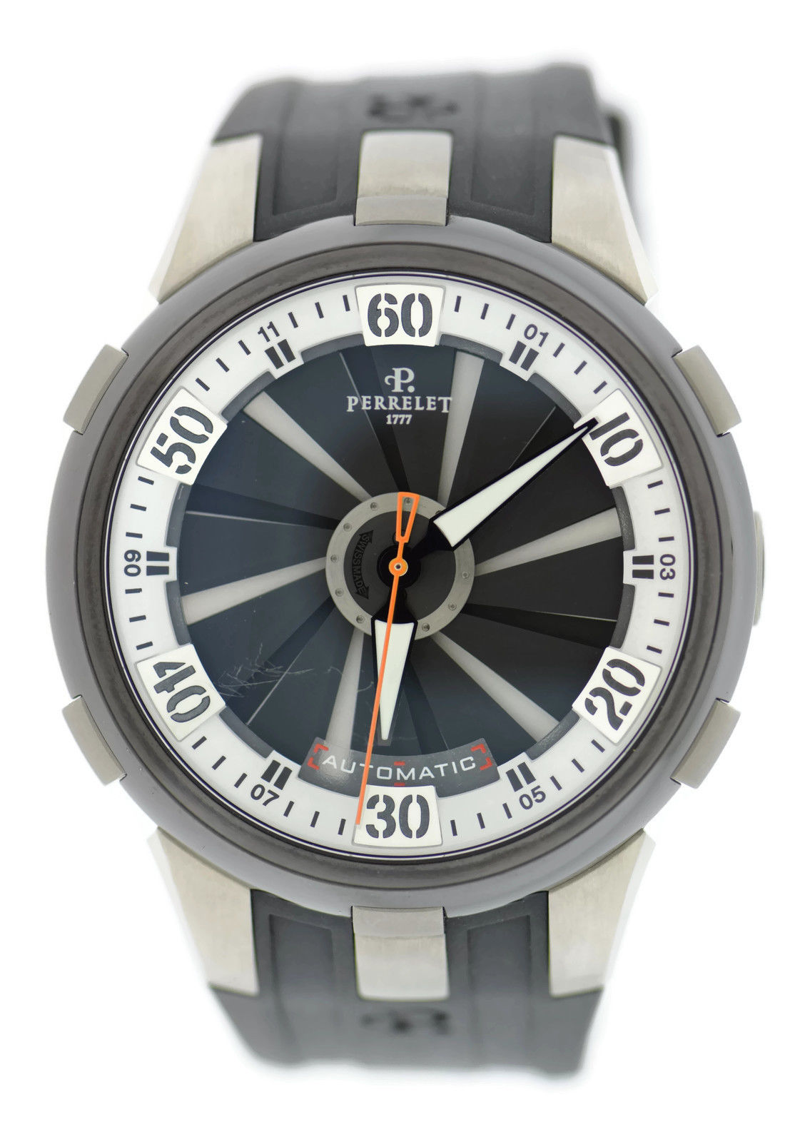 """Image of """"Perrelet Turbine A1050/4 Titanium/Stainless Steel & Rubber Automatic"""""""