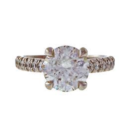 Peter Suchy Platinum 2.11ct. Diamond Ring Size 6.0