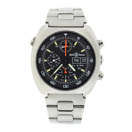 Bell & Ross By Sinn 140/42 Stainless Steel Black Dial Automatic 43.5mm Mens Watch