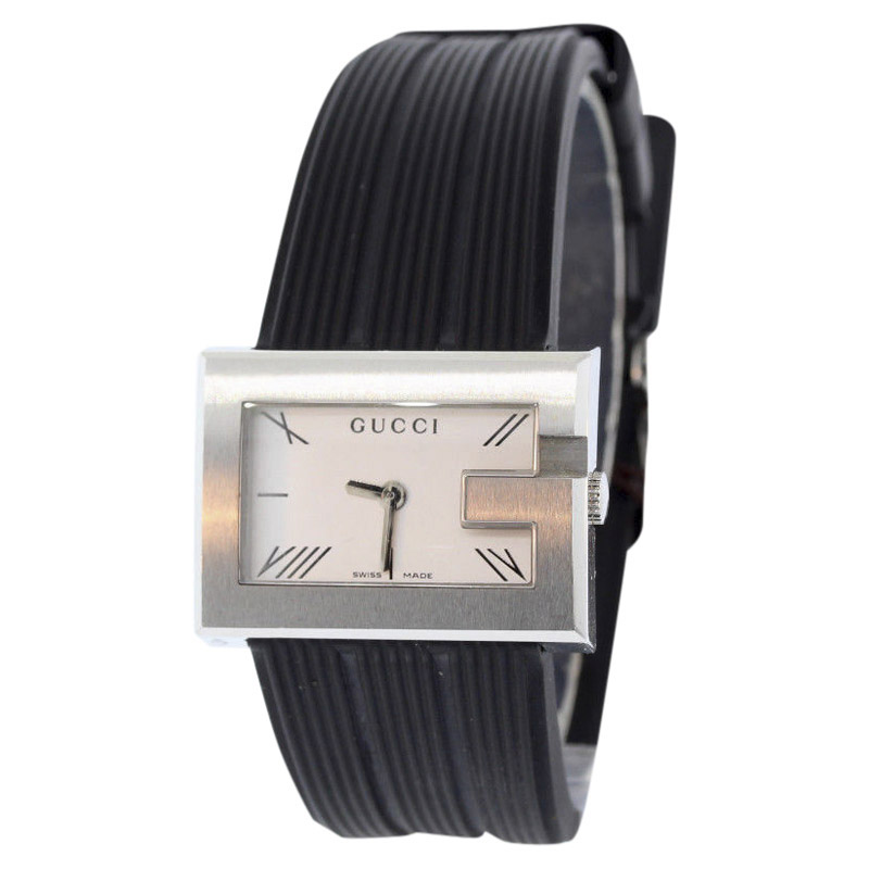 "Image of ""Gucci Ya100507 Stainless Steel with Silver Dial Quartz 31mm Womens"""