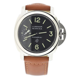 Panerai Luminor Marina PAM005 Stainless Steel with Black Dial 44mm Mens Watch